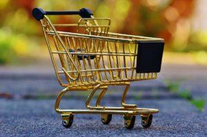Shopping Basket (miniature)